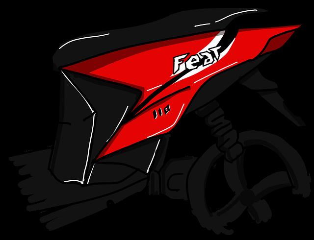 Tutorial Cara Standing Motor Matic Bagi Para Penggemar Freestyle